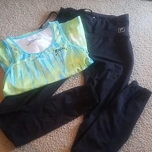 Fila workout outfit